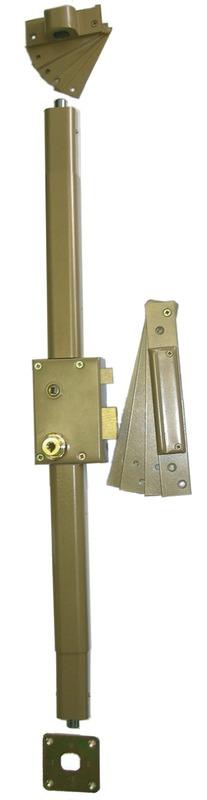 Sureté HB3 verticale 7 ailettes spéciale porte à recouvrement